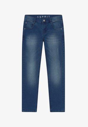 Slim fit jeans - light indigo denim
