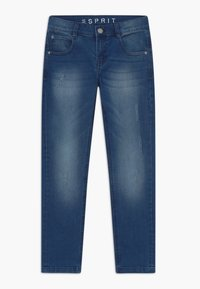 Esprit - Slim fit jeans - light indigo denim - 0