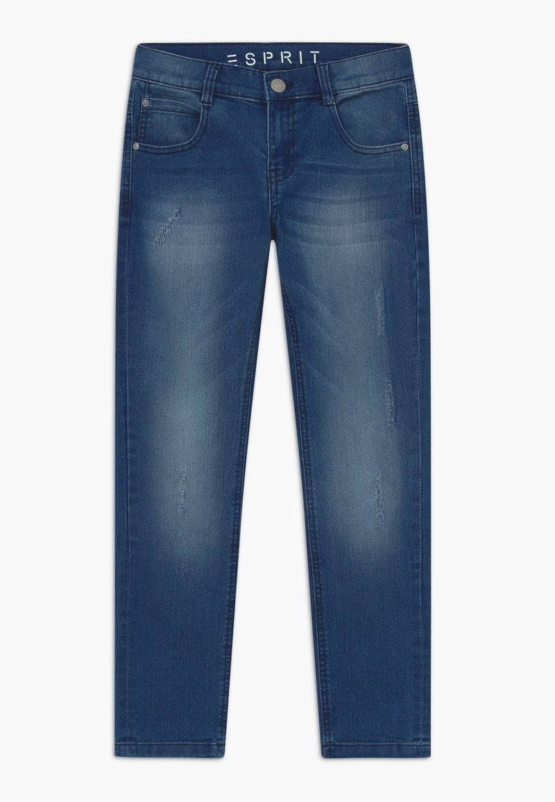 Esprit - Slim fit jeans - light indigo denim