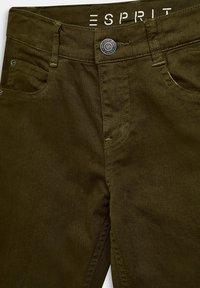 Esprit - Straight leg jeans - khaki - 2