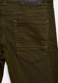 Esprit - Straight leg jeans - khaki - 3