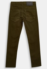 Esprit - Straight leg jeans - khaki - 1