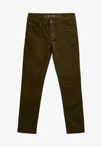 Esprit - Straight leg jeans - khaki - 0