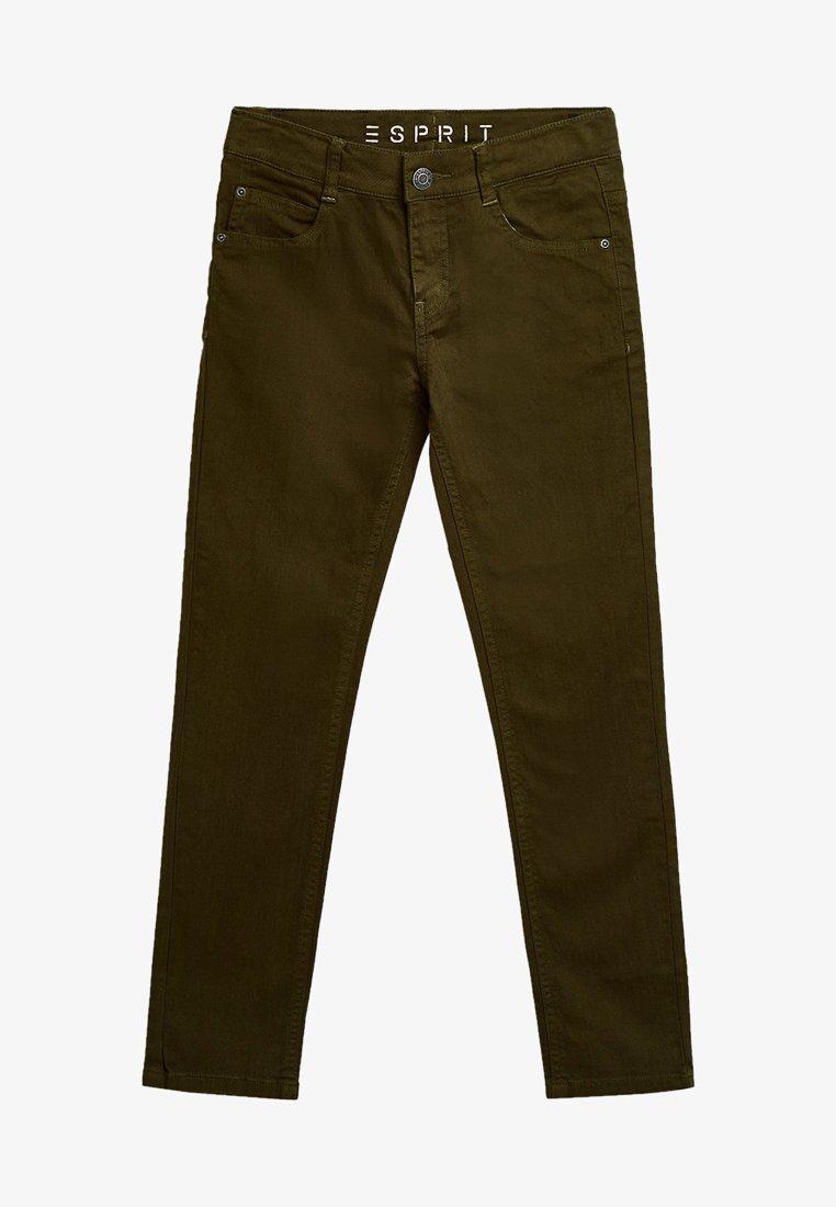 Esprit - Straight leg jeans - khaki