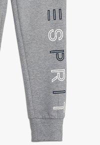 Esprit - KNIT PANTS - Verryttelyhousut - mid heather grey - 2