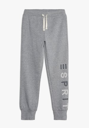 KNIT PANTS - Pantaloni sportivi - mid heather grey