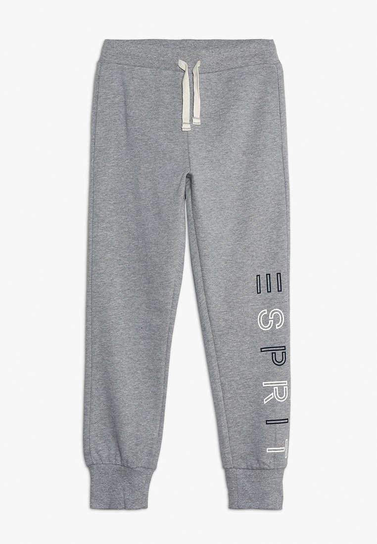 Esprit - KNIT PANTS - Pantalon de survêtement - mid heather grey
