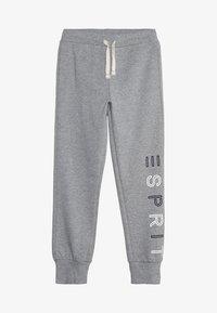 Esprit - KNIT PANTS - Verryttelyhousut - mid heather grey - 3