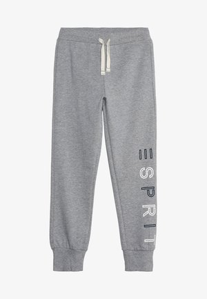 KNIT PANTS - Trainingsbroek - mid heather grey