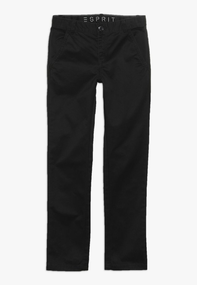 PANTS - Tygbyxor - anthracite
