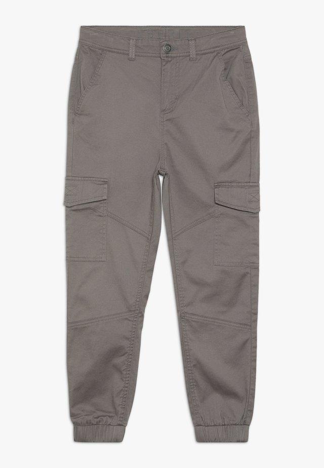 PANTS - Cargobyxor - grey