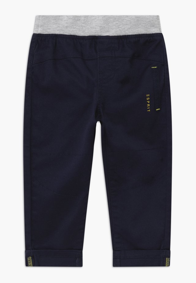 WOVEN  BABY - Stoffhose - midnight blue