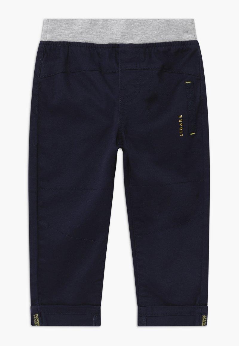 Esprit - WOVEN  BABY - Kalhoty - midnight blue