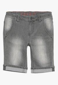 Esprit - BERMUDA - Jeansshort - grey denim - 0