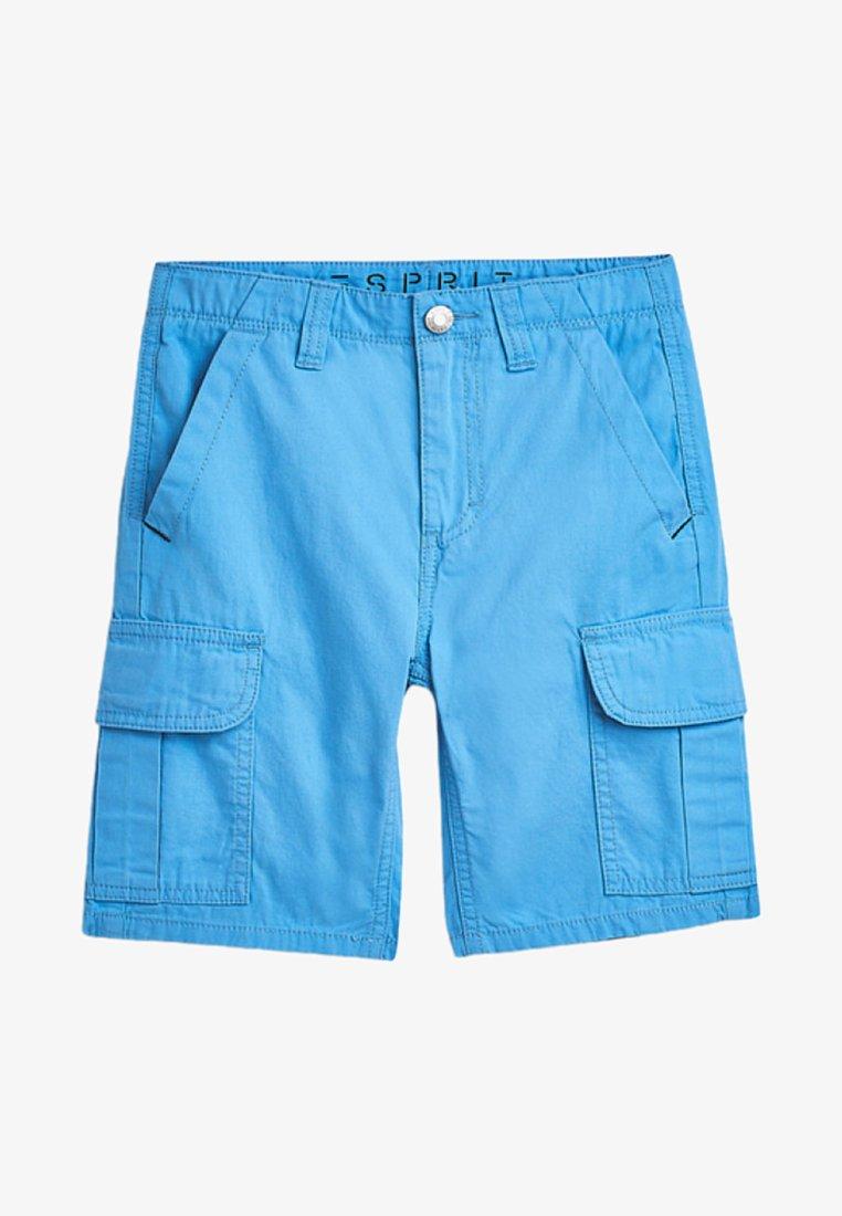 Esprit - FASHION CARGO BERMUDA - Shorts - azur blue