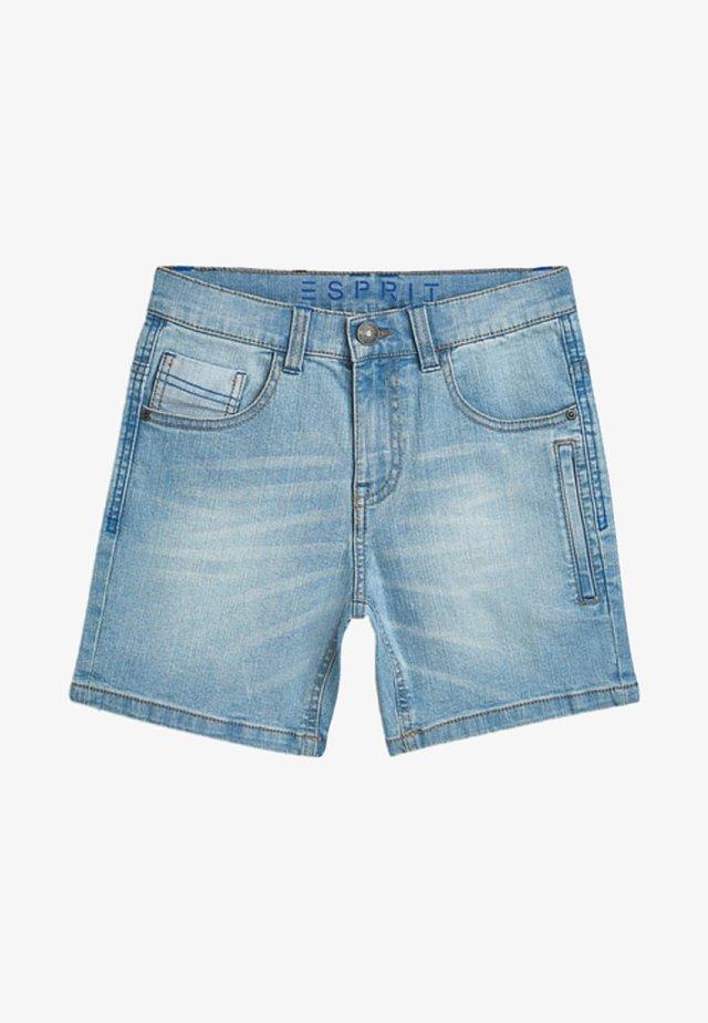 MIT USED-WASCHUNG - Jeansshort - medium denim