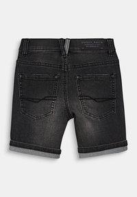 Esprit - DENIM BERMUDA - Shorts - mid grey denim - 1