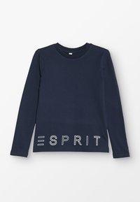 Esprit - Top sdlouhým rukávem - navy - 0