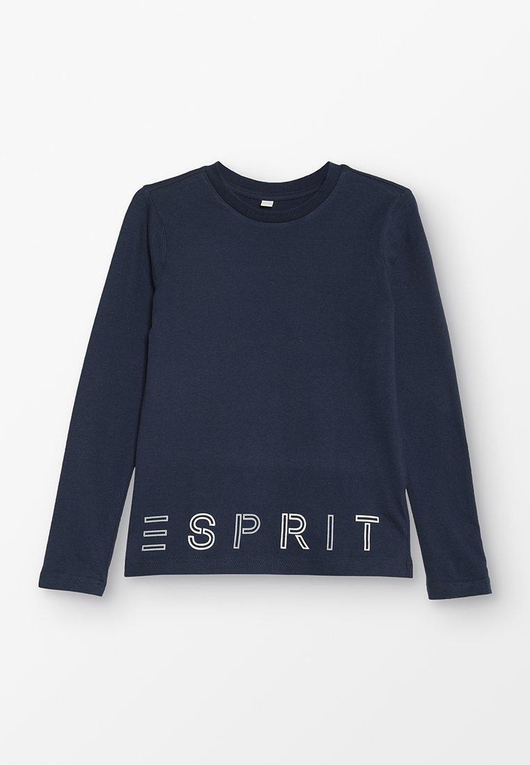 Esprit - Top sdlouhým rukávem - navy