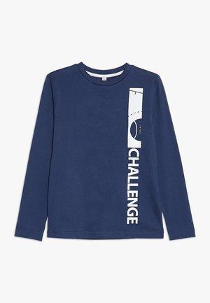 Long sleeved top - marine blue