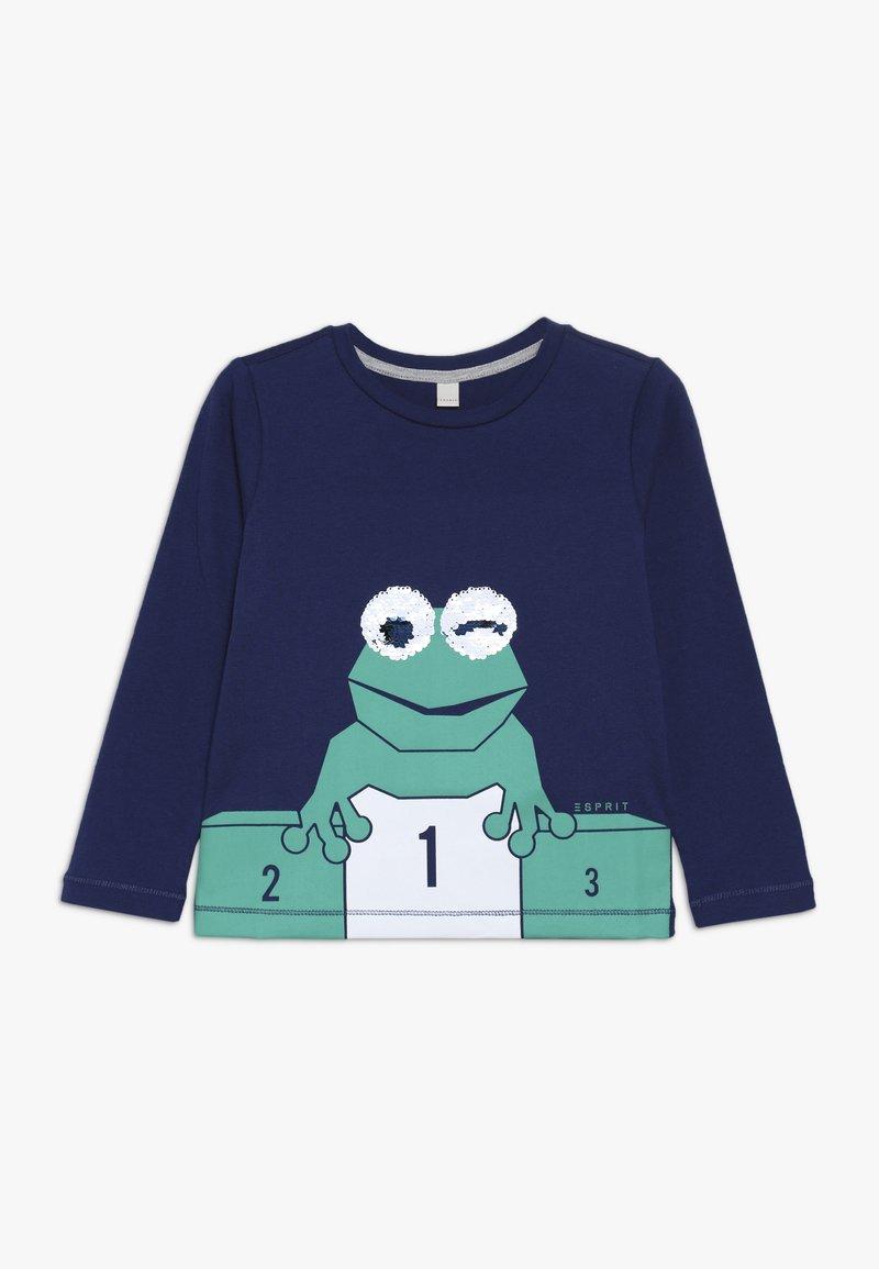 Esprit - Langærmede T-shirts - marine blue