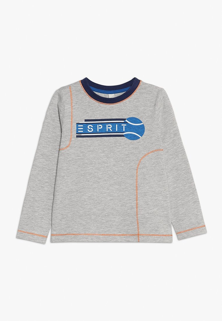 Esprit - TEE - Top sdlouhým rukávem - heather silver