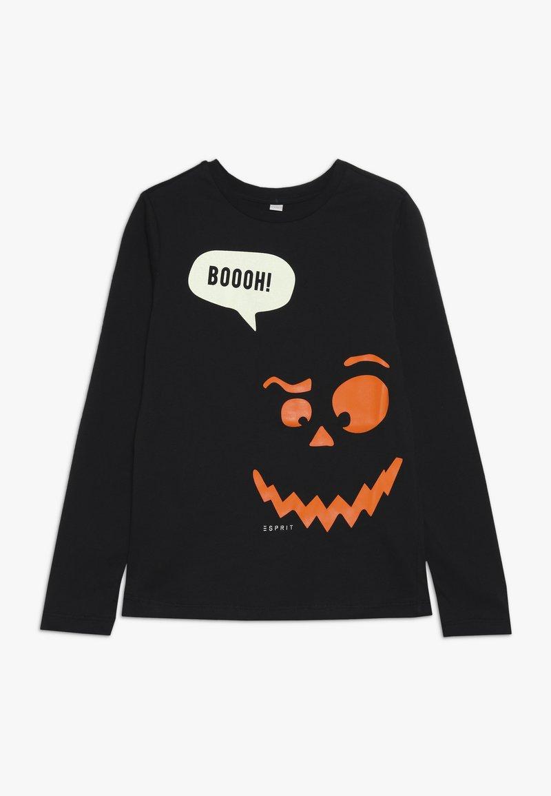 Esprit - Langærmede T-shirts - black