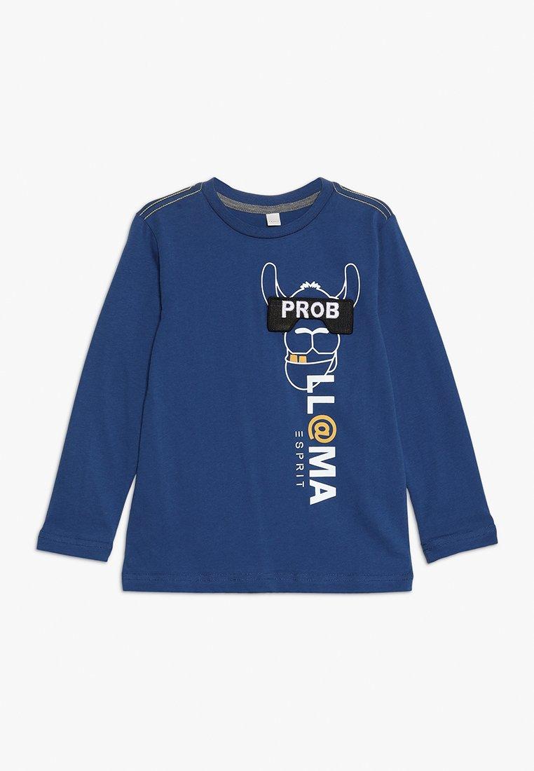 Esprit - T-shirt à manches longues - indigo