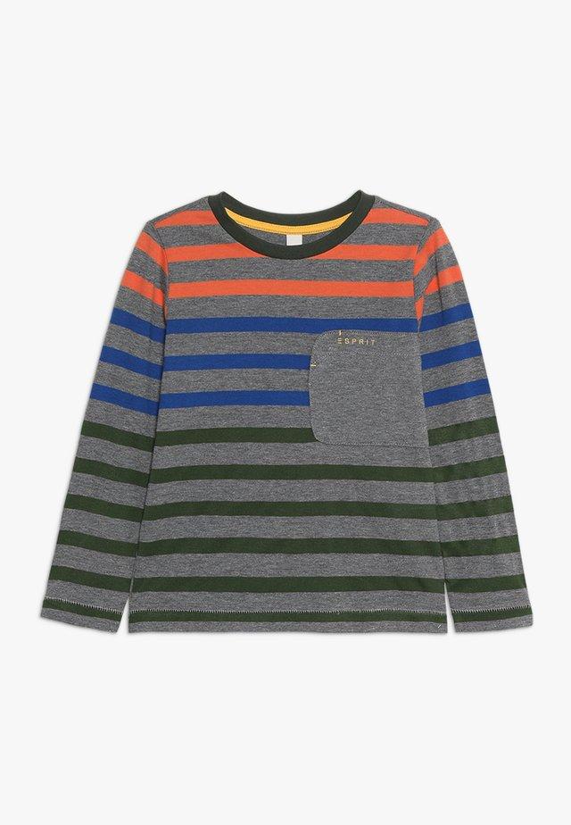 Pitkähihainen paita - dark heather grey