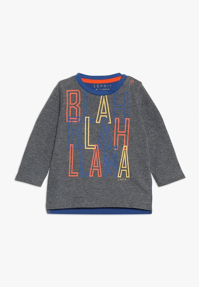 BABY - Camiseta de manga larga - dark heather grey
