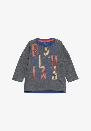 BABY - Top sdlouhým rukávem - dark heather grey