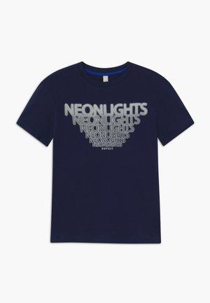 T-shirt print - midnight blue