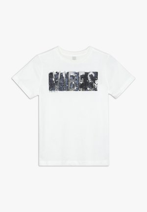 TEE - Print T-shirt - off white