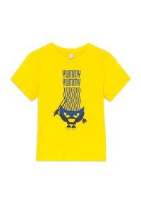 Esprit - T-shirt con stampa - lemon - 0