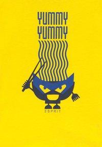 Esprit - T-shirt con stampa - lemon - 3