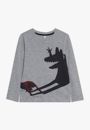 Camiseta de manga larga - heather silver