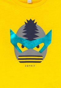 Esprit - Triko spotiskem - lemon - 3