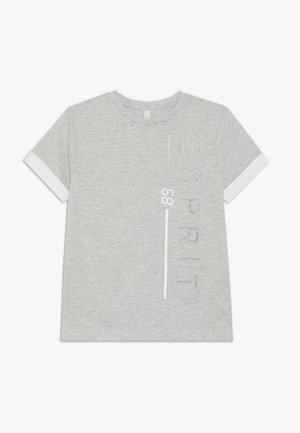 T-SHIRT SS - T-shirts med print - heather silver