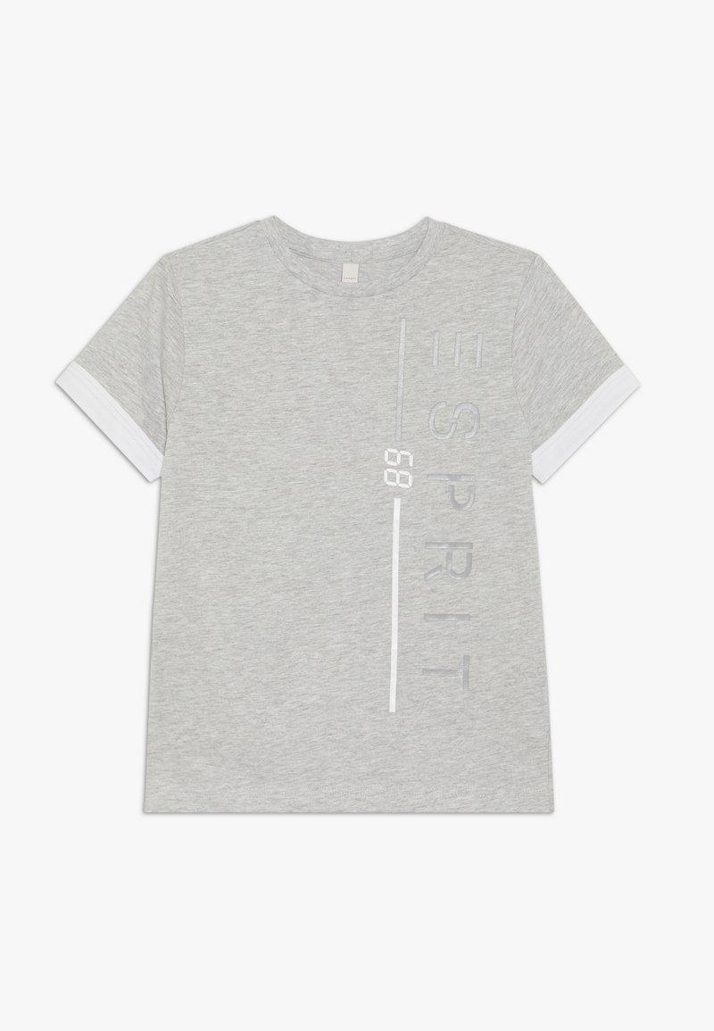 Esprit - T-SHIRT SS - T-shirt z nadrukiem - heather silver