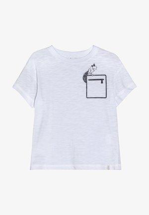 T-SHIRT SS - T-shirt imprimé - white