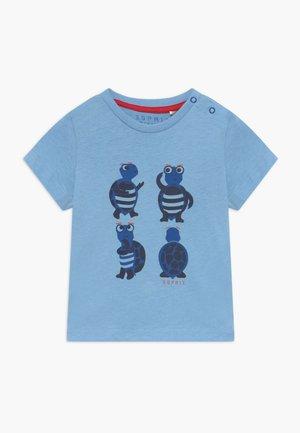 BABY - Triko spotiskem - light blue