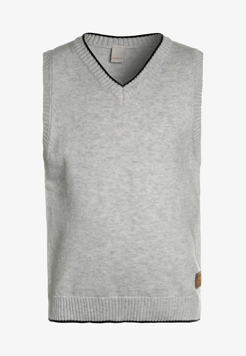 Esprit - SLIPOVER - Pullover - light heather grey