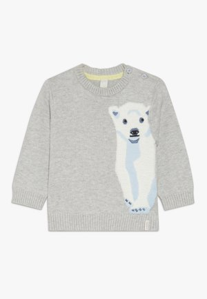 JUMPER BABY - Maglione - heather silver