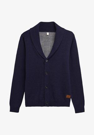 MIT KARO-MUSTER, 100% BAUMWOLLE - Vest - ultramarine