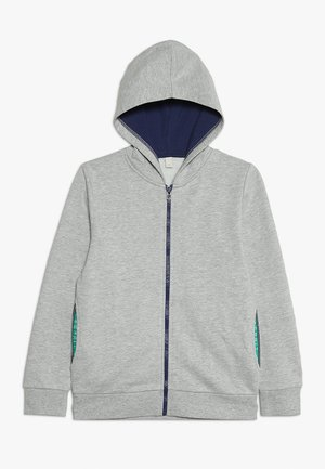 CARDIGAN - veste en sweat zippée - heather silver