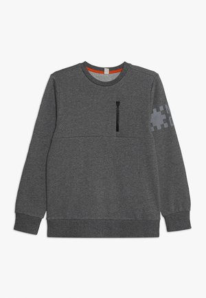Collegepaita - dark heather grey
