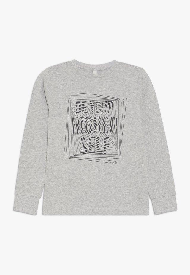 Sweatshirt - heather silver