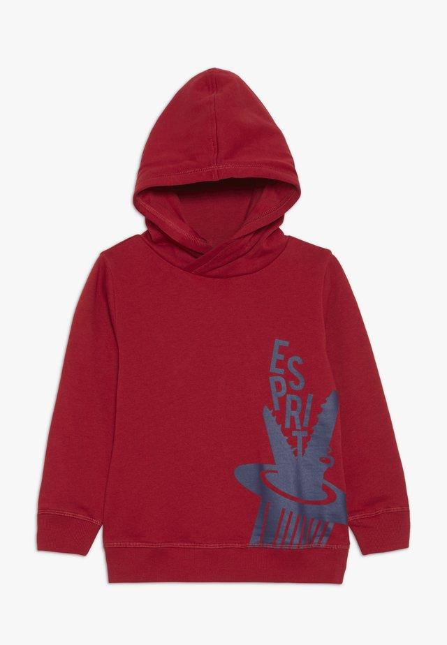 Hoodie - dark red