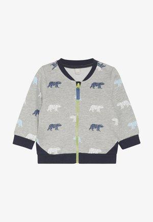 JACKET BABY - Zip-up hoodie - heather silver