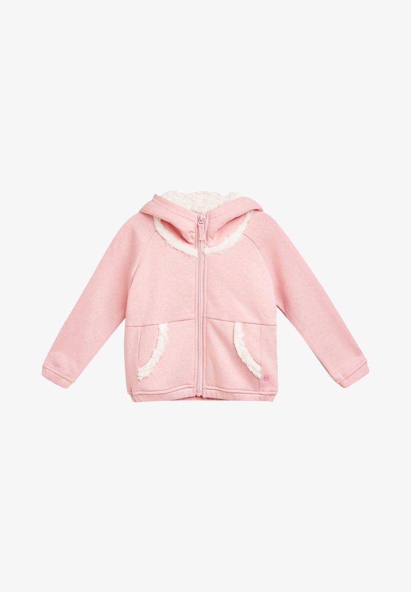 Esprit - veste en sweat zippée - light pink